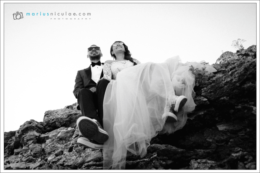 sedinta foto trash the dress