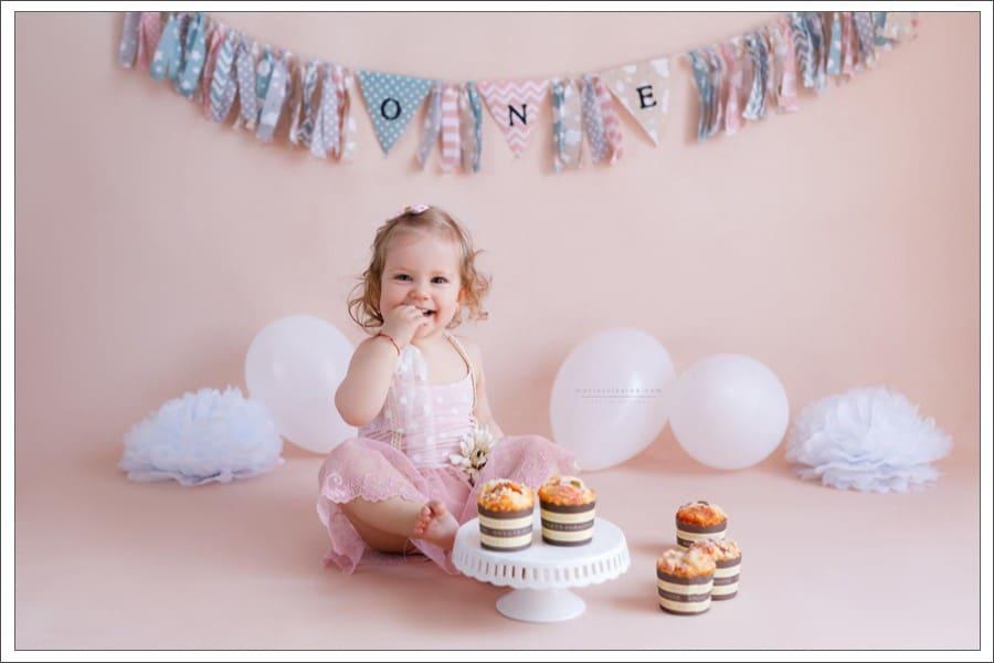 foto aniversare bebe