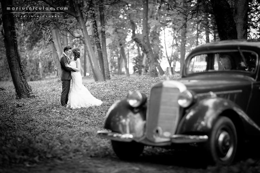 masina pentru nunta